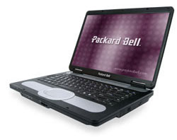 Servis notebooků Packard Bell