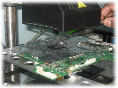 Oprava mainboardu Acer