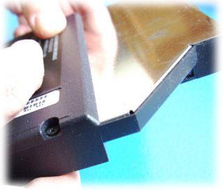 Výměna DVD-RW mechaniky v notebooku Acer