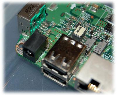Notebook Acer konektor