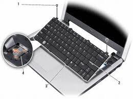 Výměna klávesnice u notebooku acer